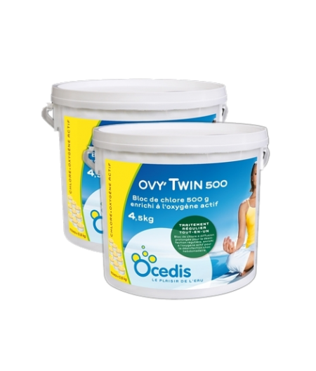Aktyvus deguonis su Chloru - daugiafunkcinis 5 in 1 Ovy Twin 4,5 kg