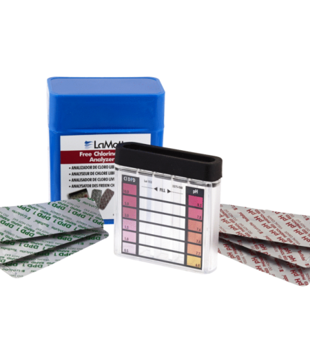 Baseino ir SPA Vandens Testeris pH ir Chloro nustatymui