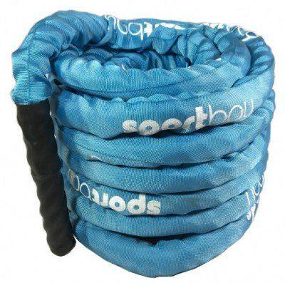 Jėgos virvė su nailonine apsauga Sportbay® (9m)