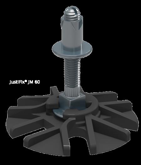 Reguliuojamo Aukščio Terasos Atramos SIHGA JustFix JM 60