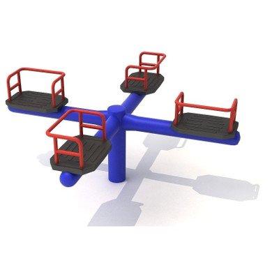 Kryžminė keturių asmenų karuselė
